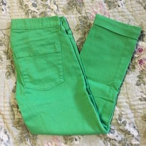 J. Crew Matchstick Stretch Pants